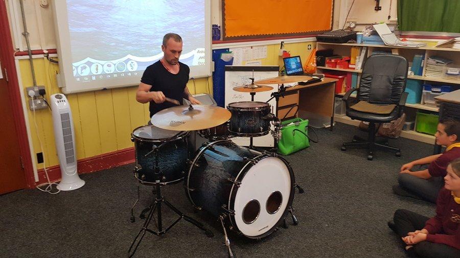 Professional Drummer Matt Keeling - Perseverance Assembly