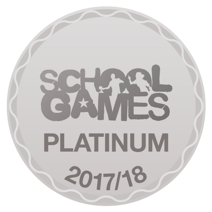 After 4 years of achieving the Sainsbury's Gold awarded for the recognition of the work we undertake around school sport and the opportunities that we provide our children, we have been accredited with the Sainsbury's platinum award for 2017/18.