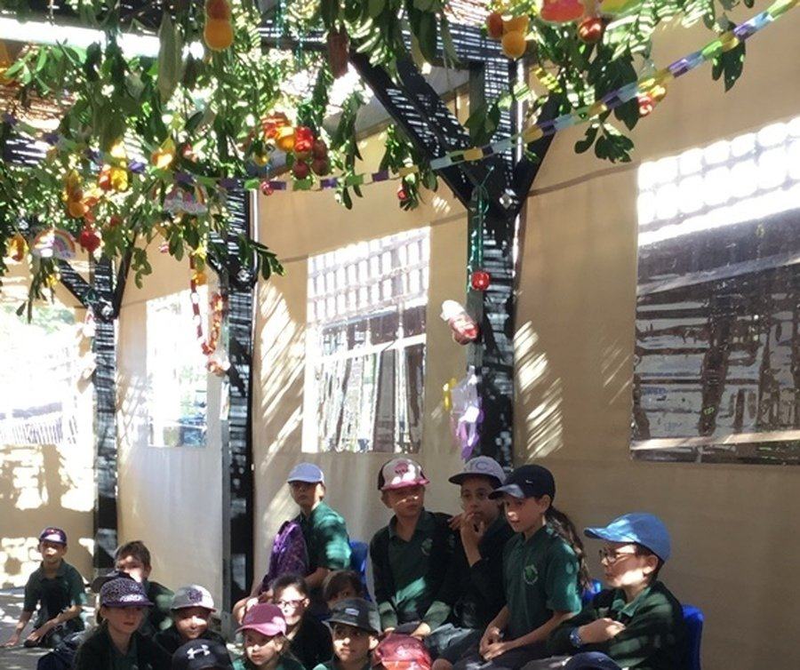 Year 5 and 6 Pizza in the Hut September 2018