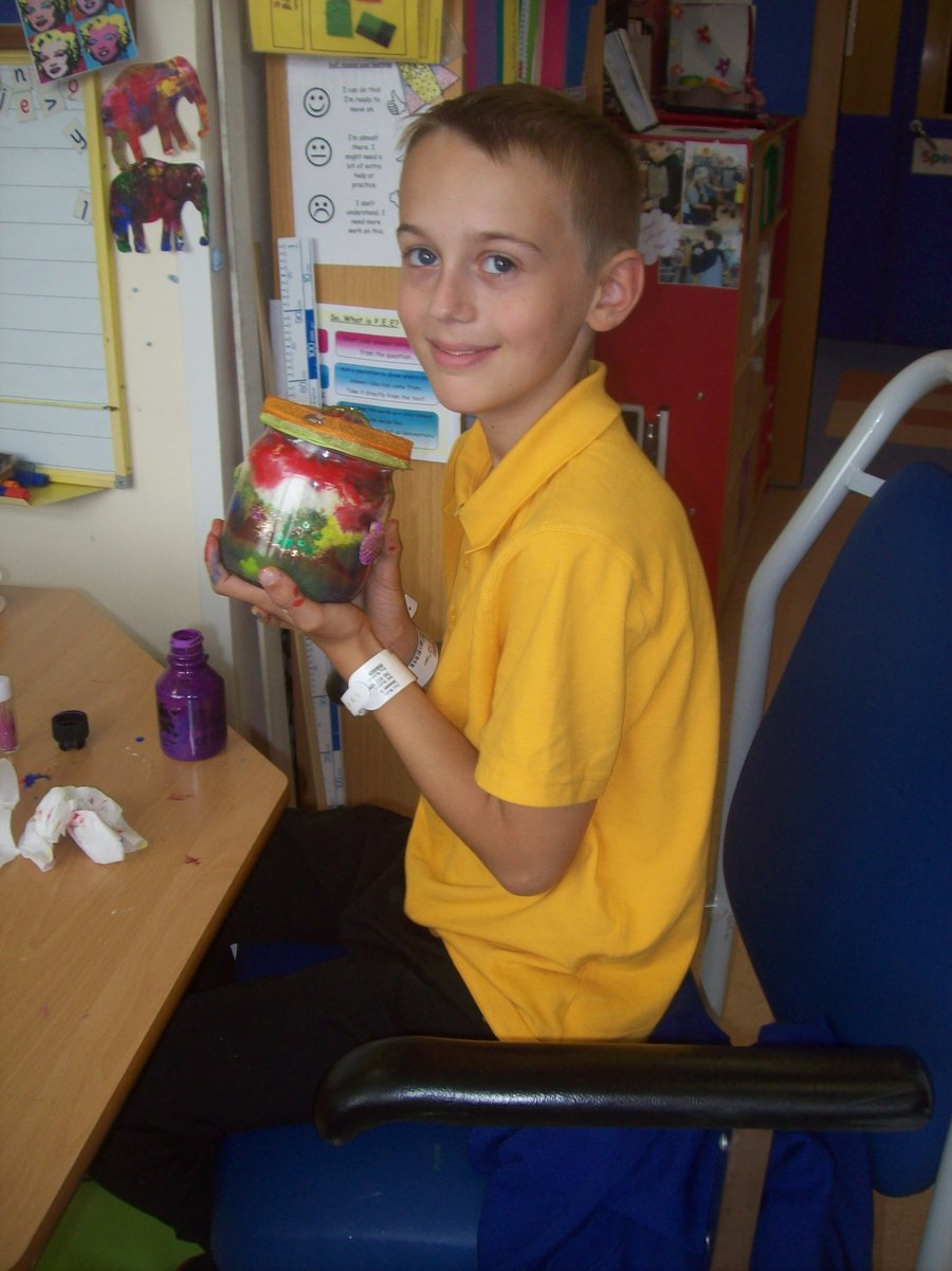 Jenson Year 6, made a BFG inspired dream catcher.