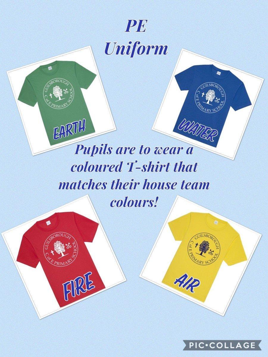 Guilsborough C Of E Primary School Uniforms