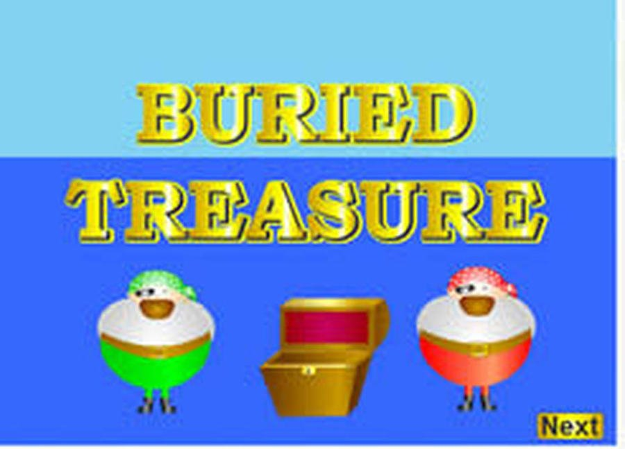 Click the picture to play Buried Treasure