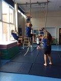 Practising our climbing skills!.JPG