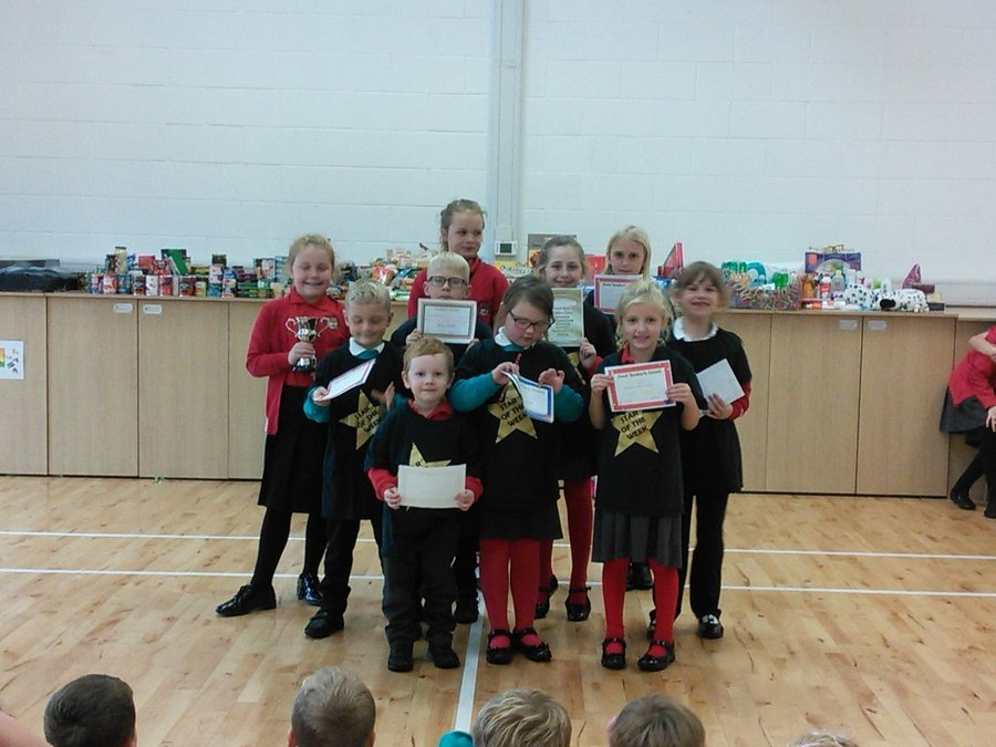 Golden Assembly winners 12th October 2018