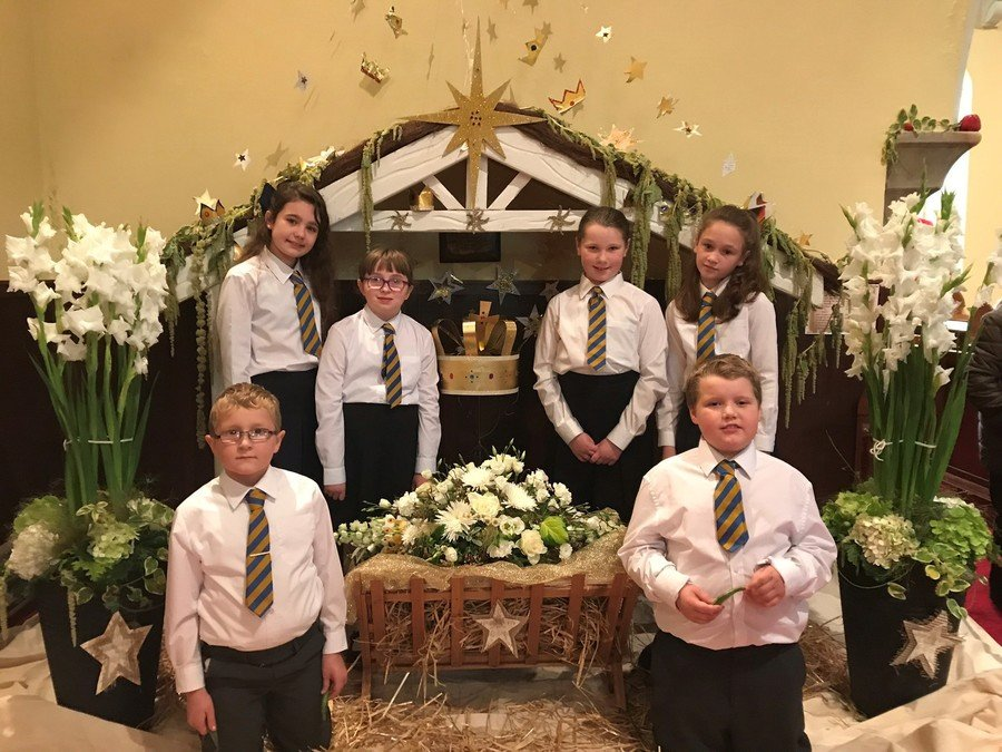 Edwards took part at the C F Alexander Harvest Flower Festival Weekend at St Bestius, Killeter