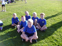 Year 3 & 4 did a great job at the East Dorset Fun Run. They had to complete a 1km cross country race. against other children from local schools. Our children showed great determination and team work..JPG