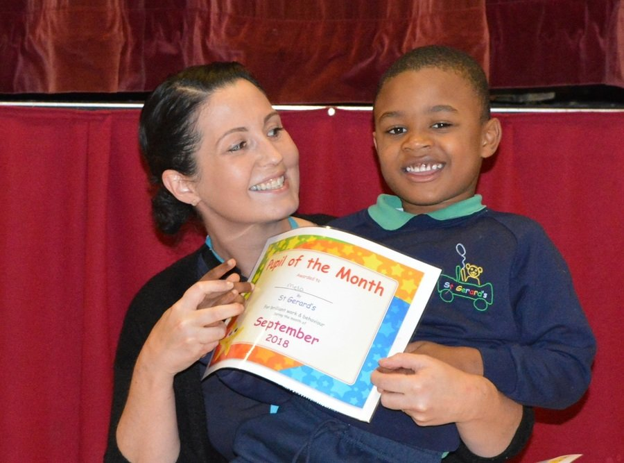 Early Years Pupil of the Month