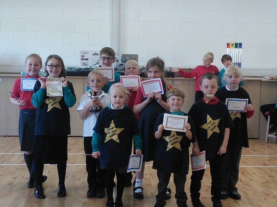 Golden assembly winners 19th October 2018