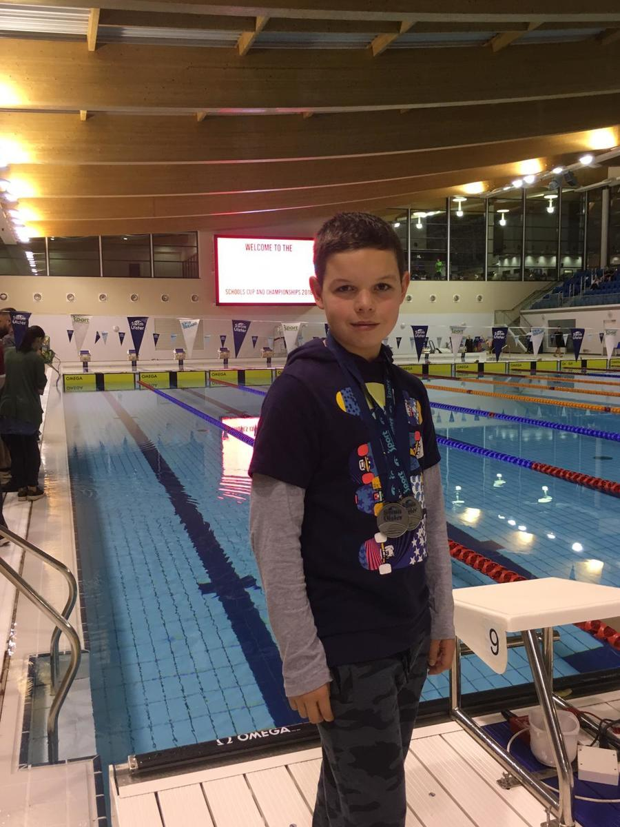 Congratulations to our fabulous swimmer Daniel McAlinden