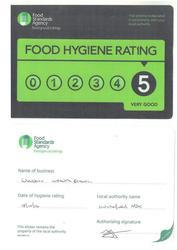 Food Hygiene Certifcate