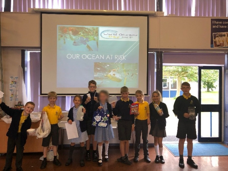 World Oceans Day Assembly led by Eco-Council