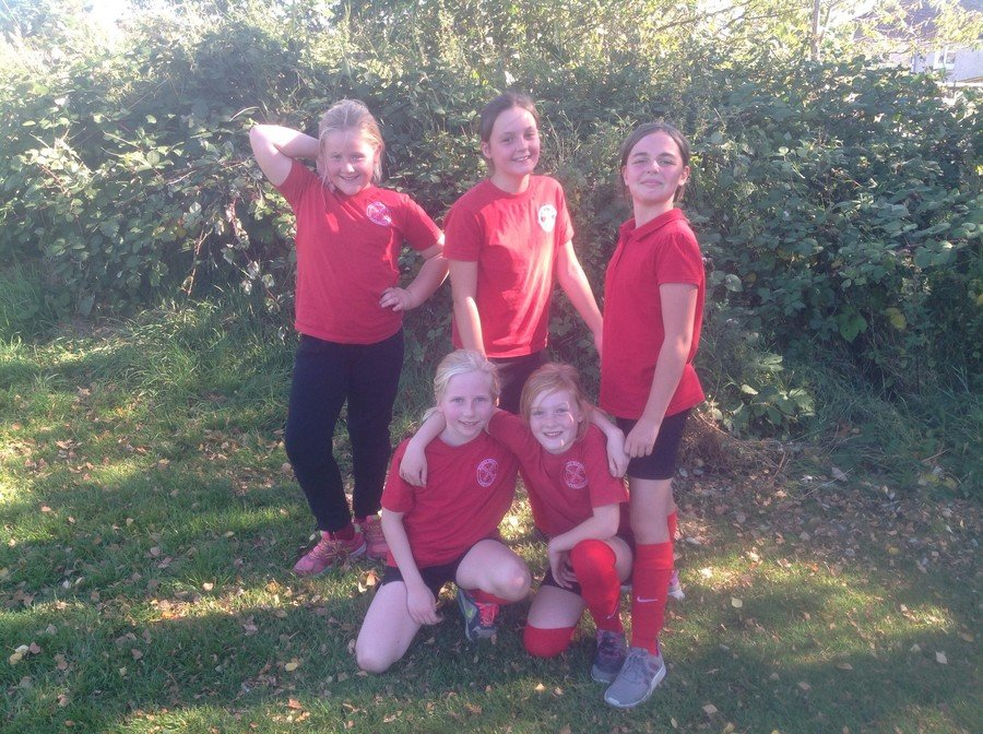 Girls' Football Sept 2018