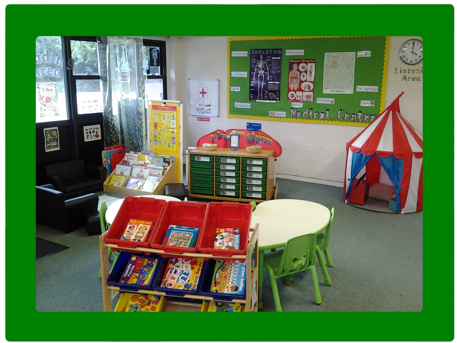 The Green Room ~ role play and listening tent