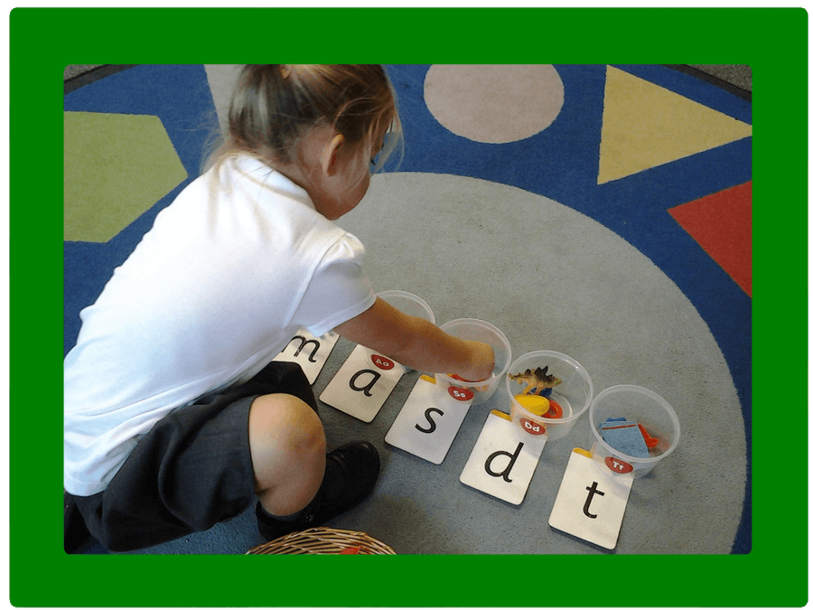 Year R Phonics ~ initial sounds