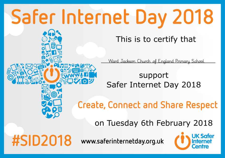 Safer Internet Day - Certificate