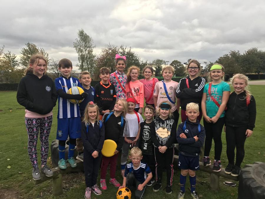 During October half term, Mr Goddard ran a sports camp at our school. We enjoyed sports from dodgeball to football. We loved all the challenges such as egg roulette and soak the coach. Lots of fun had by all!