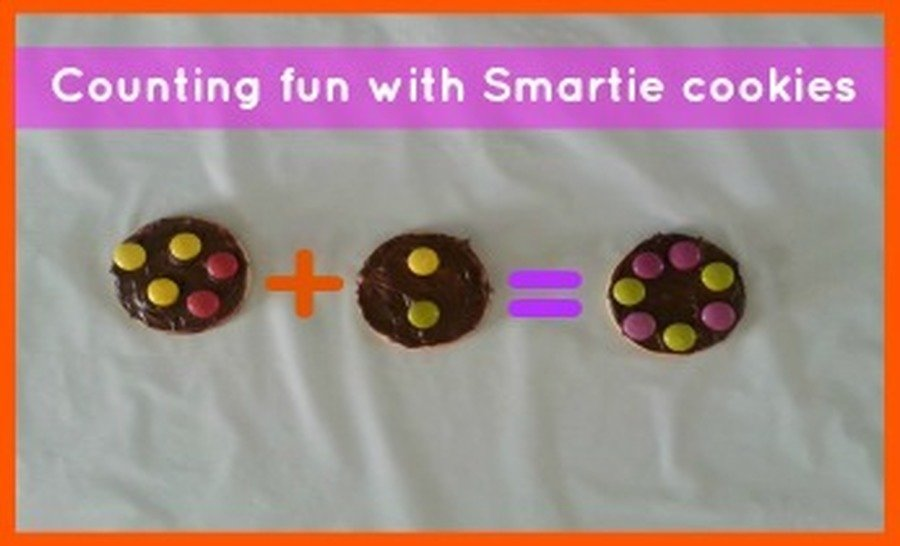 Introduce addition using smarties!