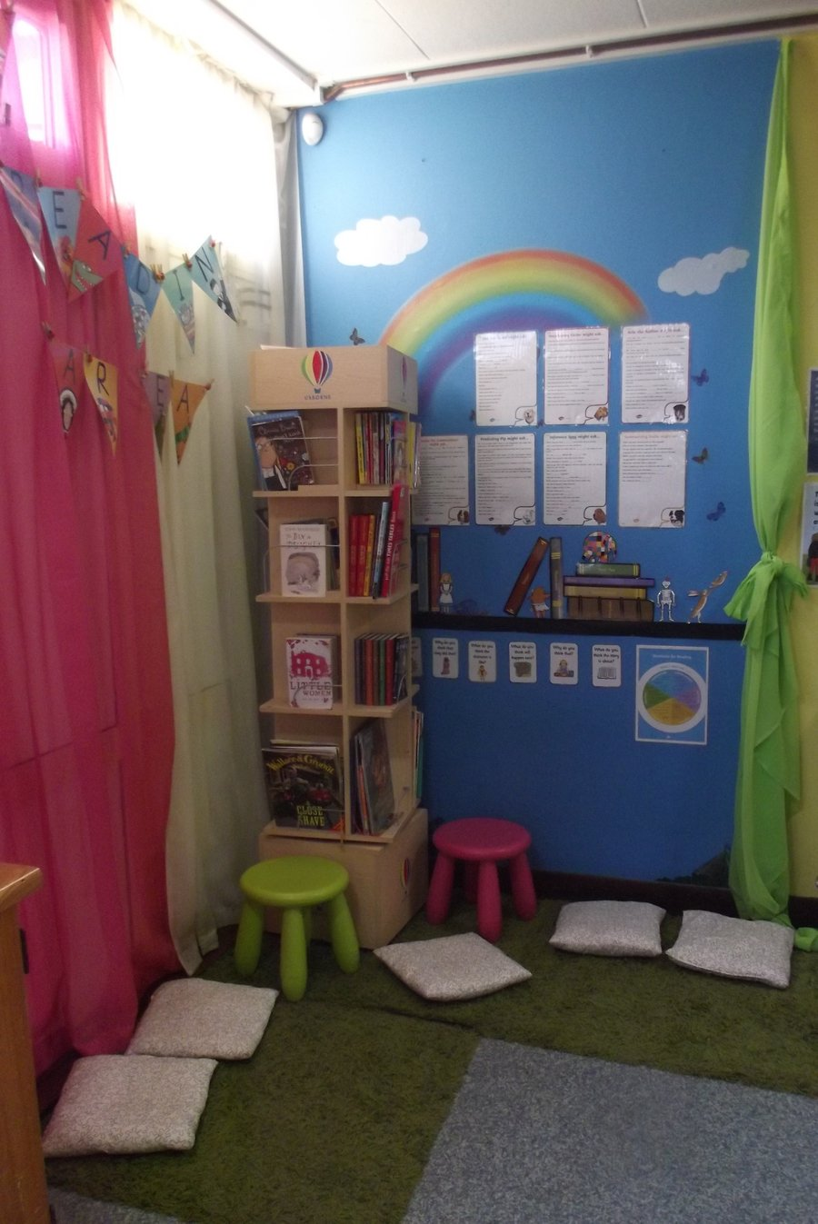 KS2 Reading Area