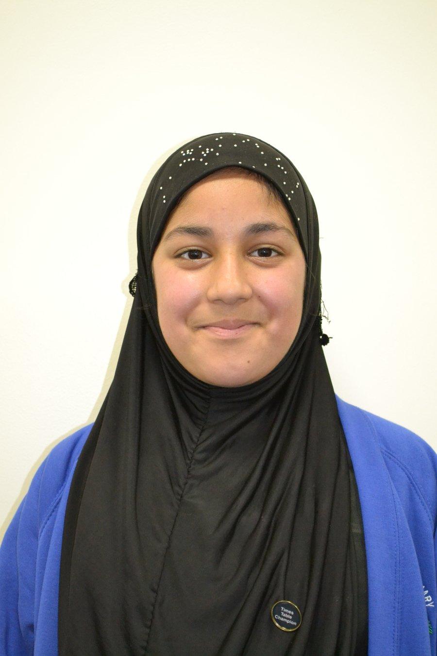 Well done Amina!