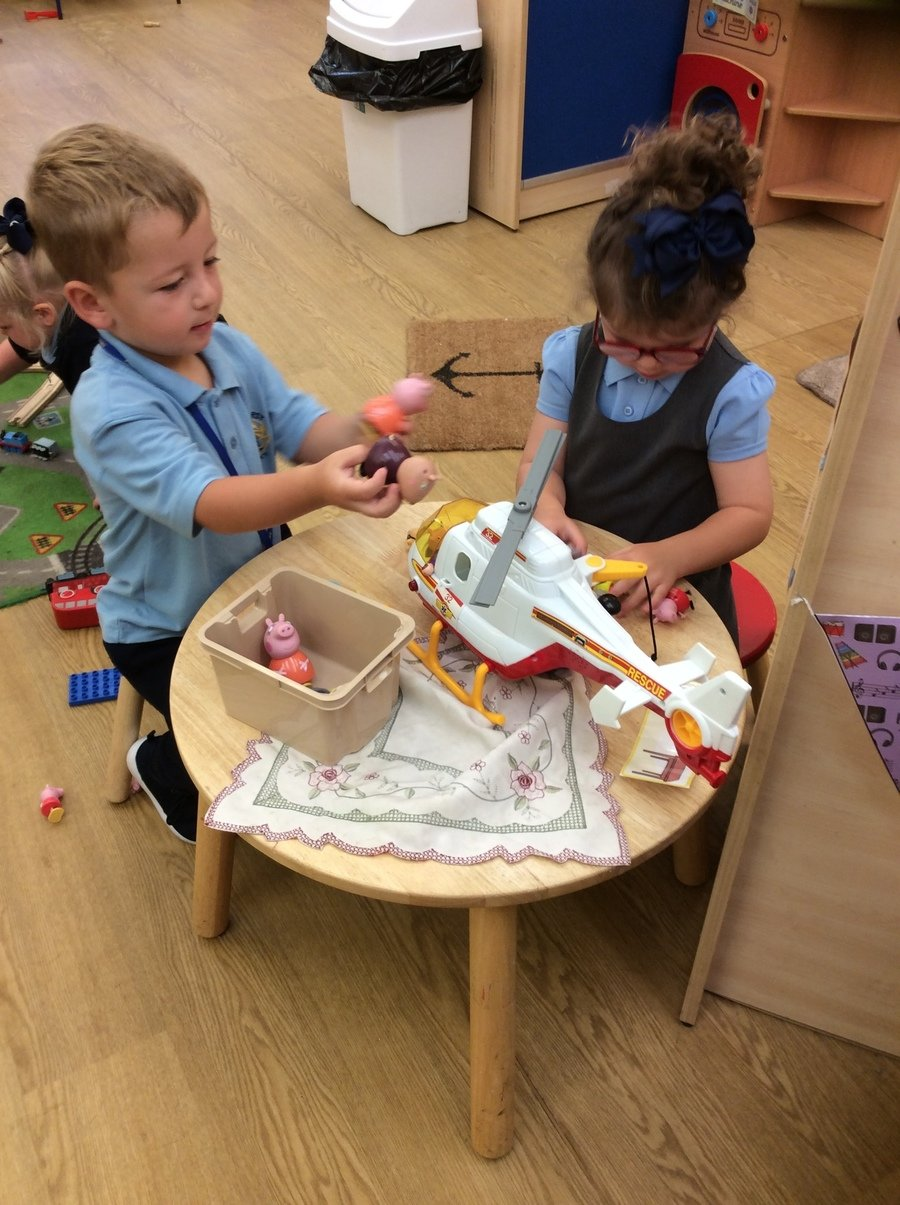 Ashurst has a 25 place morning nursery for children with an admission each September, January and April. Places are available for children term following their 3rd birthday.