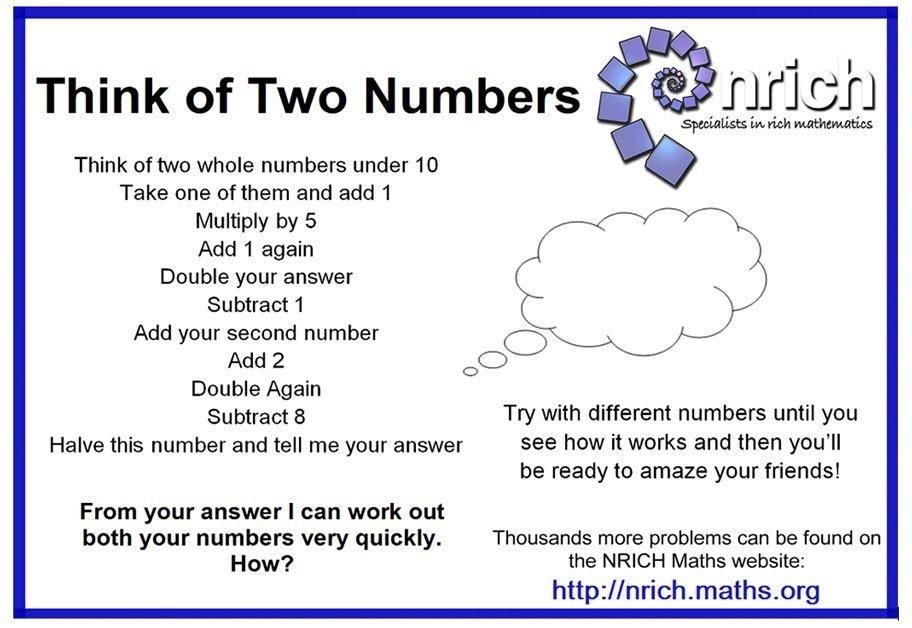 Maths Challenge week2