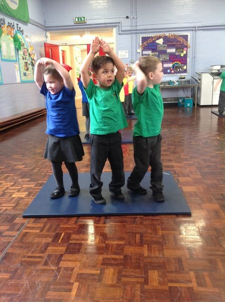St Paul's C E Primary School - Activities in the EYFS