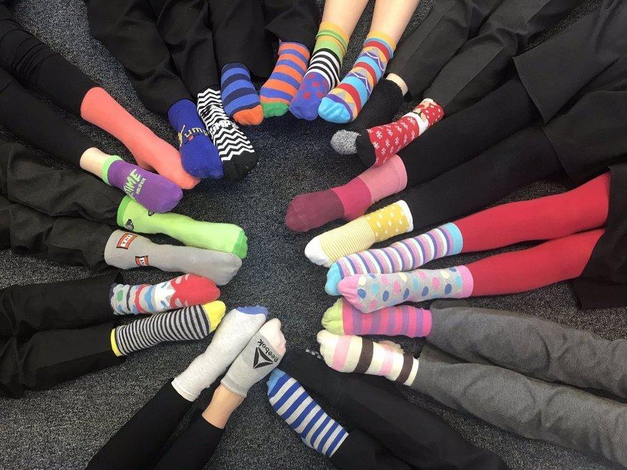 Odd Socks Day!