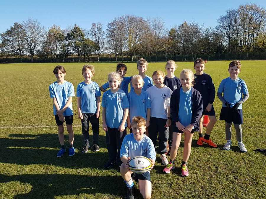 The Owls Tag Rugby Team played brilliantly at the Hadleigh Pyramind Tournamnet - Nov 2018