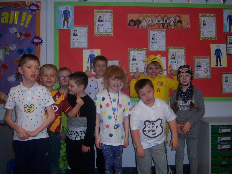Class 3 Children in Need 2018