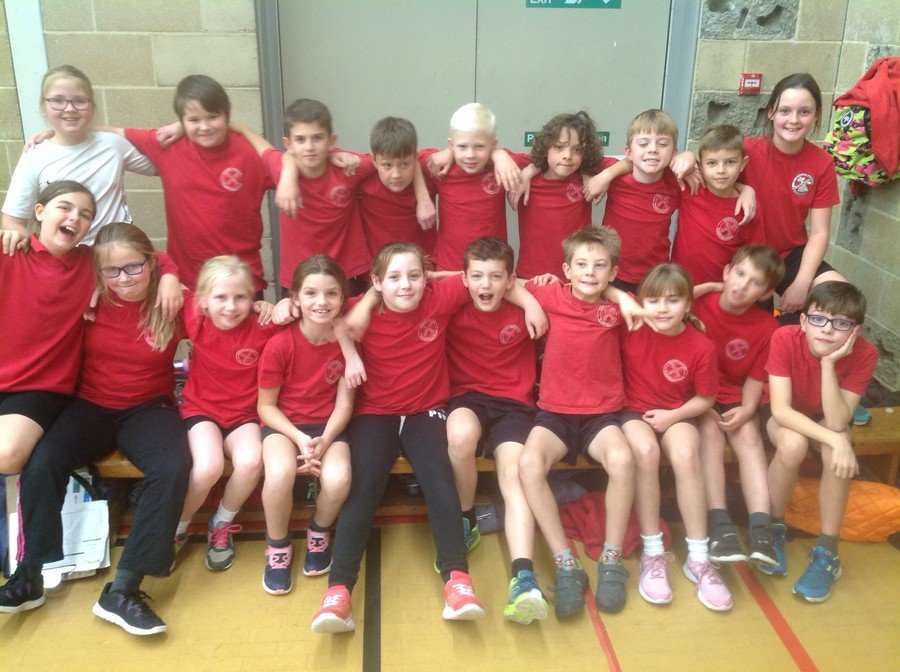 Y5/6 Sports hall Athletics Nov 2018