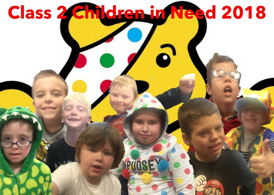 Class 2 Children in Need 2018