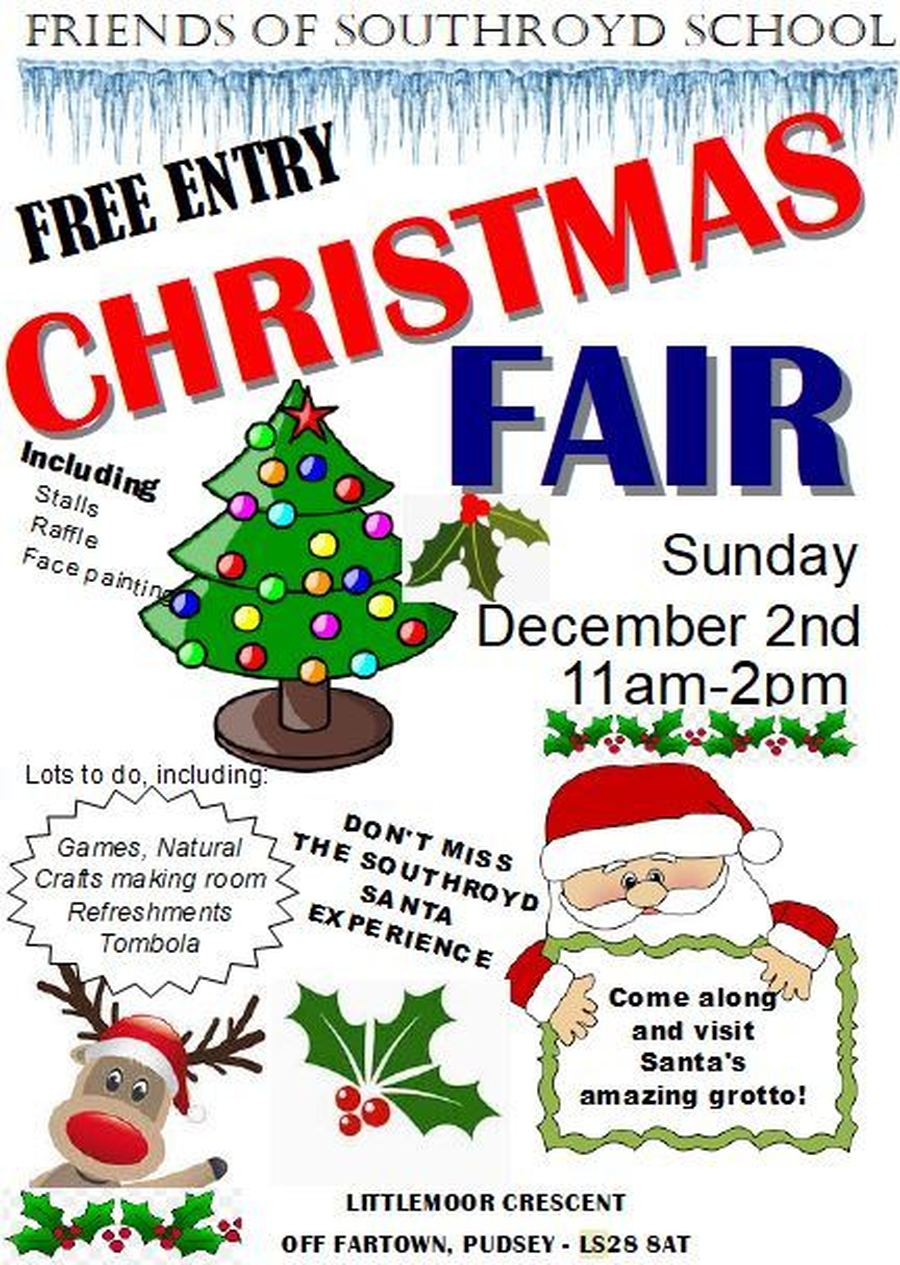 Southroyd Primary School - Christmas Fair
