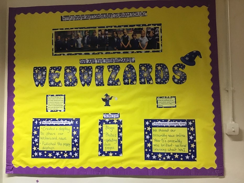 Webwizards display