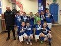 Derbyshire small schoolsfootball champions!