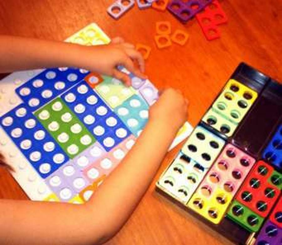 This is what Numicon looks like we use it to help learning with number
