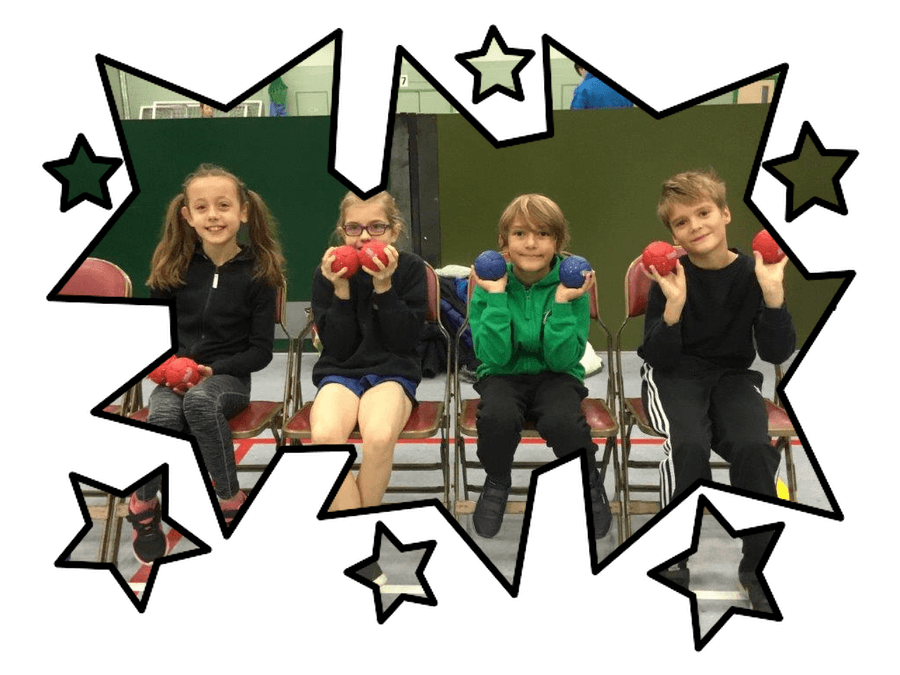 The boccia team