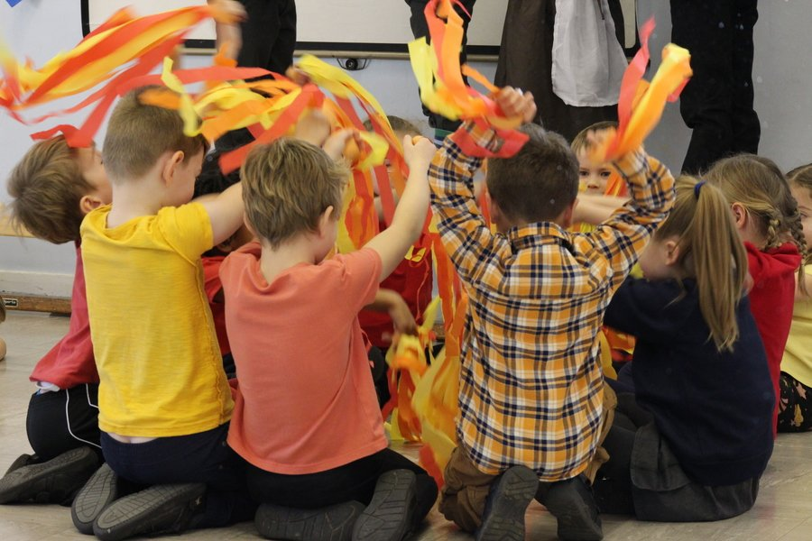 Year Two 'Fire of London' Assembly