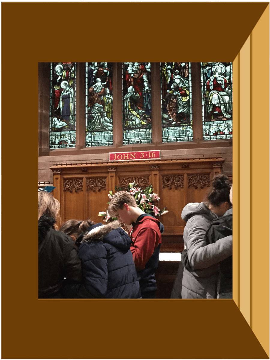 Thinking and Talking about St, Johns Church building.