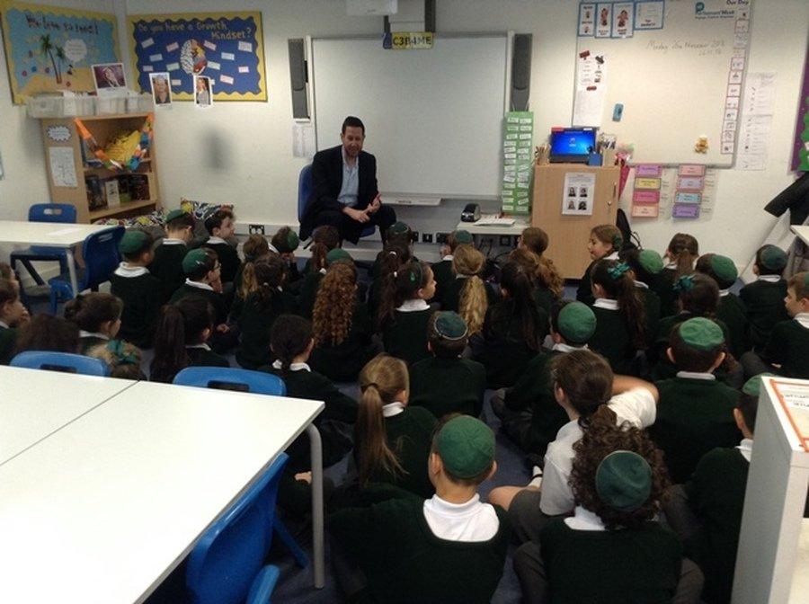 Rabbi Schochet's Visit November 2018