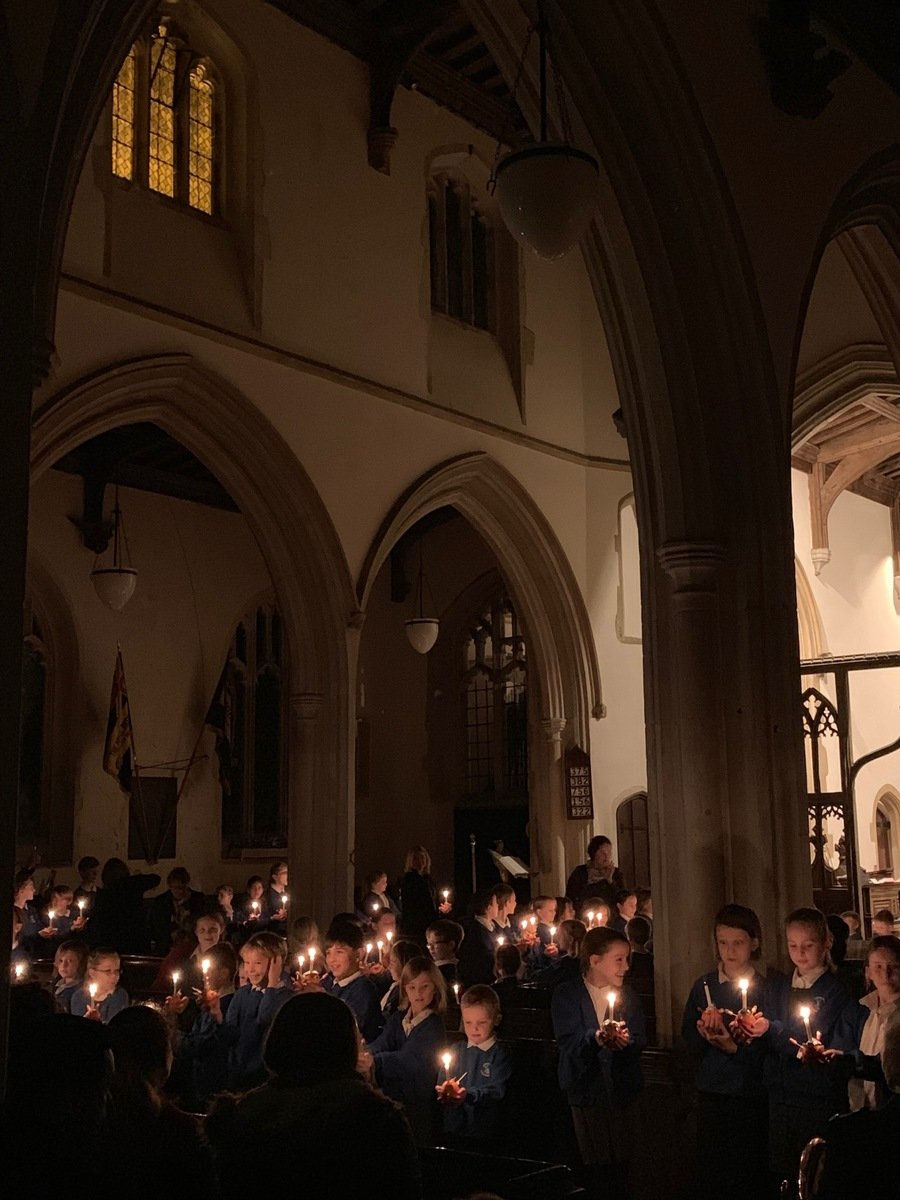 Our Christingle Service at St. Bartholomew's Church