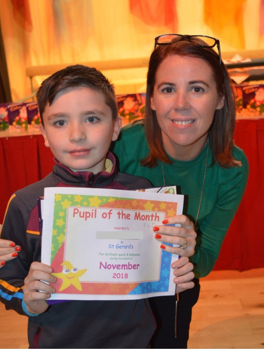 Pupil of the Month Awards - November