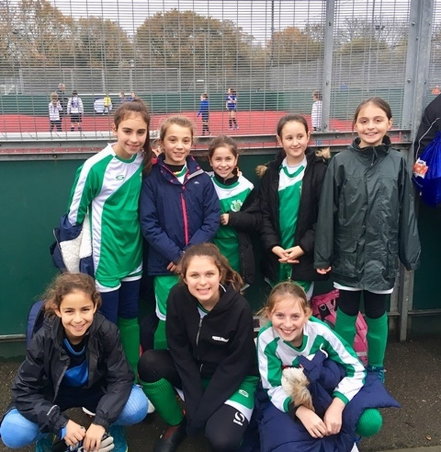 Year 5 and 6 Girl's Football Tournament November 2018