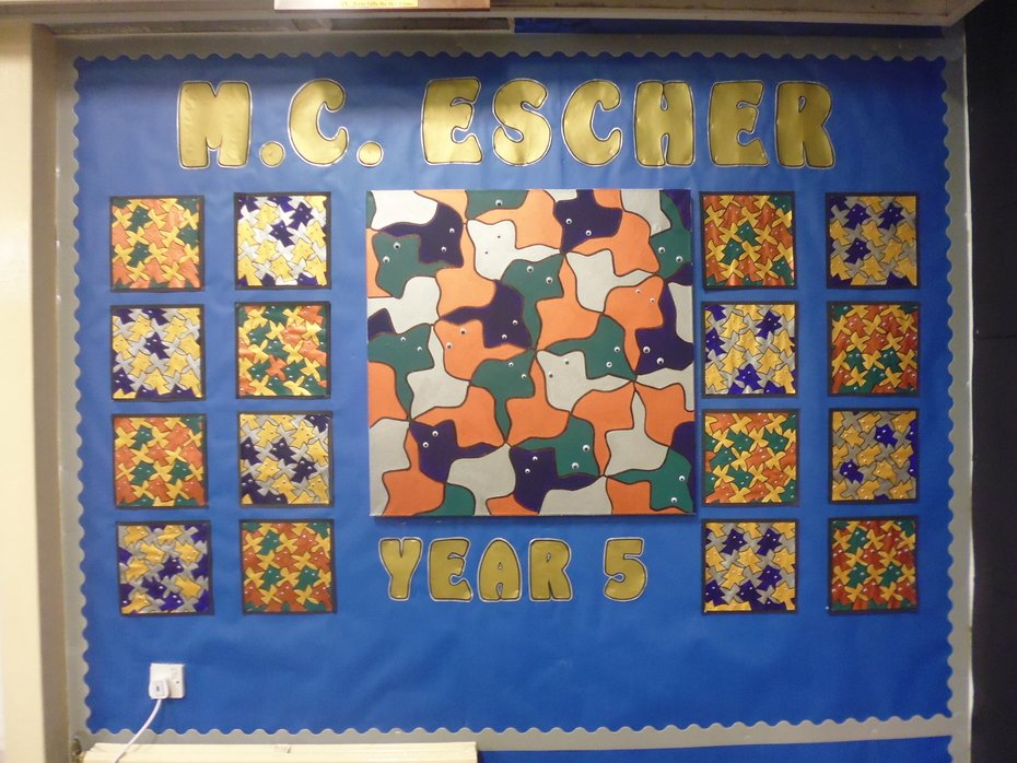 Year Five Artwork Escher