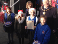 St. George's was presented with a certificate from the mayor