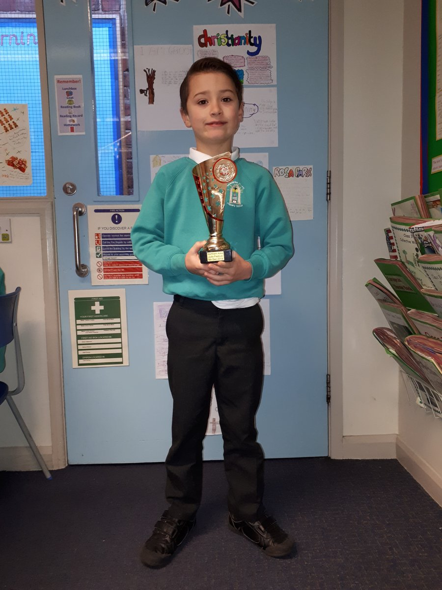 Well done Lewis on getting your Judo award