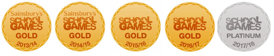The school Games Award has been awarded in recognition of our outstanding provision for School Sport and PE.
