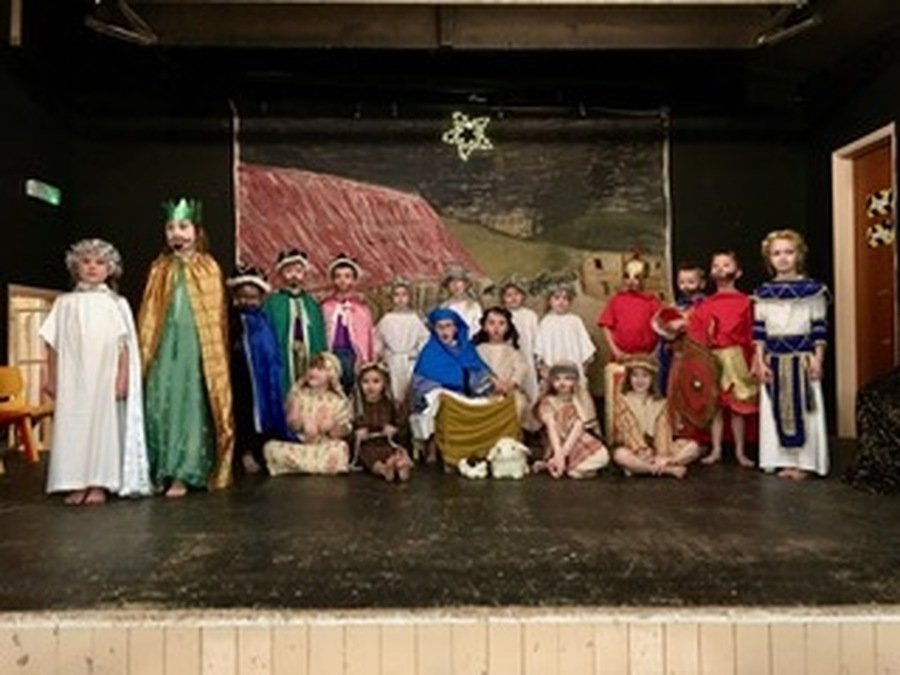 Otters all performed brilliantly in the annual Christmas Nativity.