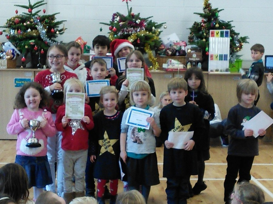 Golden assembly winners 14th December 2018