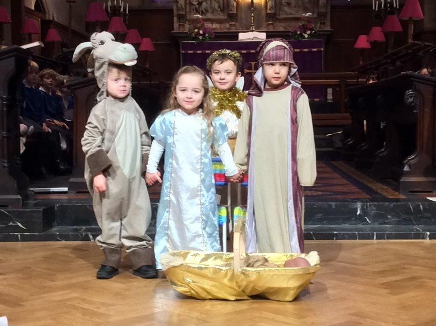 Nativity Service at Christ Church