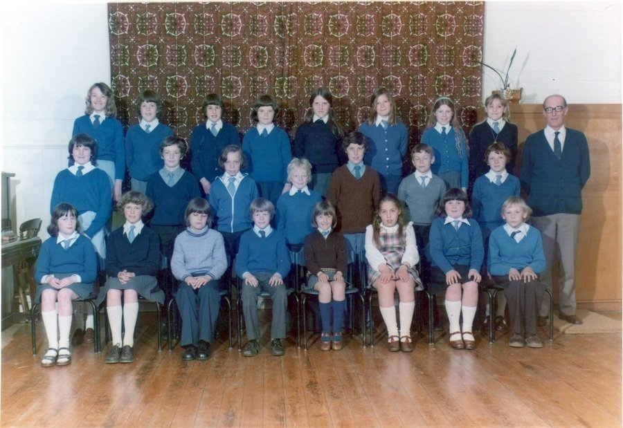 Photos above, kindly provided by Little Gransden resident and current Teaching Assistant at the school, Mrs Hipwell